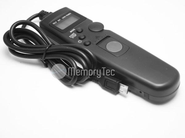 Cabo Disparador Remoto Time Lapse RM-VPR1 TC1011 para Sony