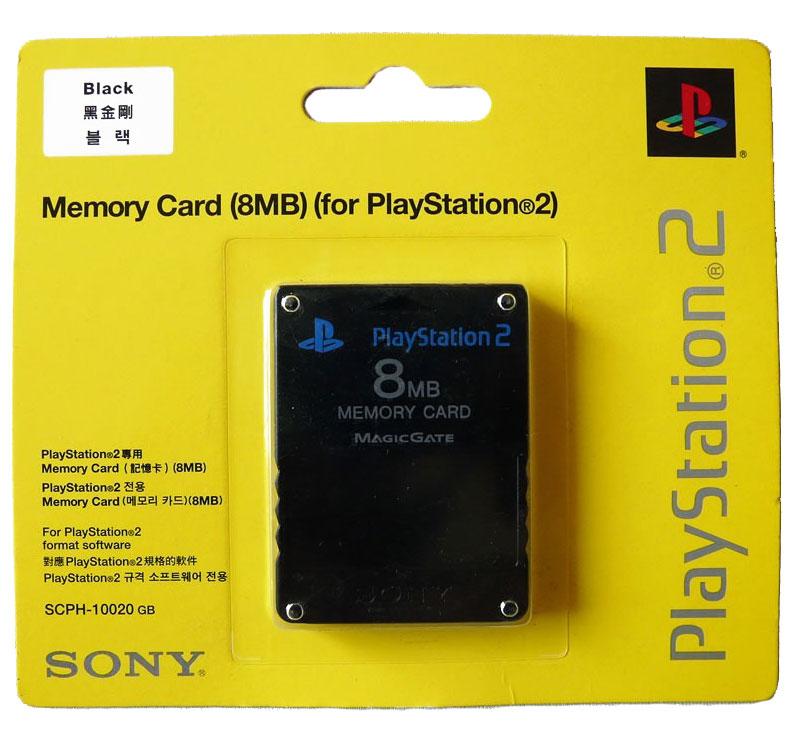 Cartão de Memória 8MB para PlayStation2