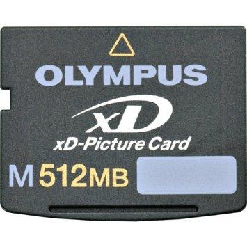 Cartão de Memória XD 512MB Olympus