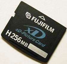 Cartão de Memória XD 256MB FujiFilm