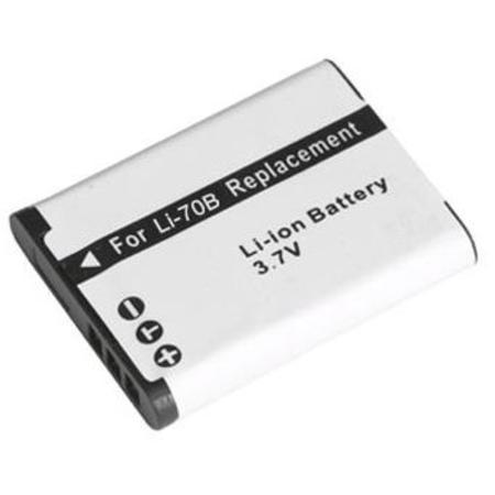 Bateria Li-70B para câmera digital e filmadora Olympus D-700 FE-4020 X-940 VG-110