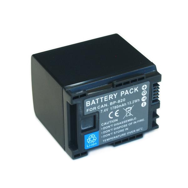 Bateria BP-820 para Canon HF-10, HF-G20, HF-M30, HF-S100