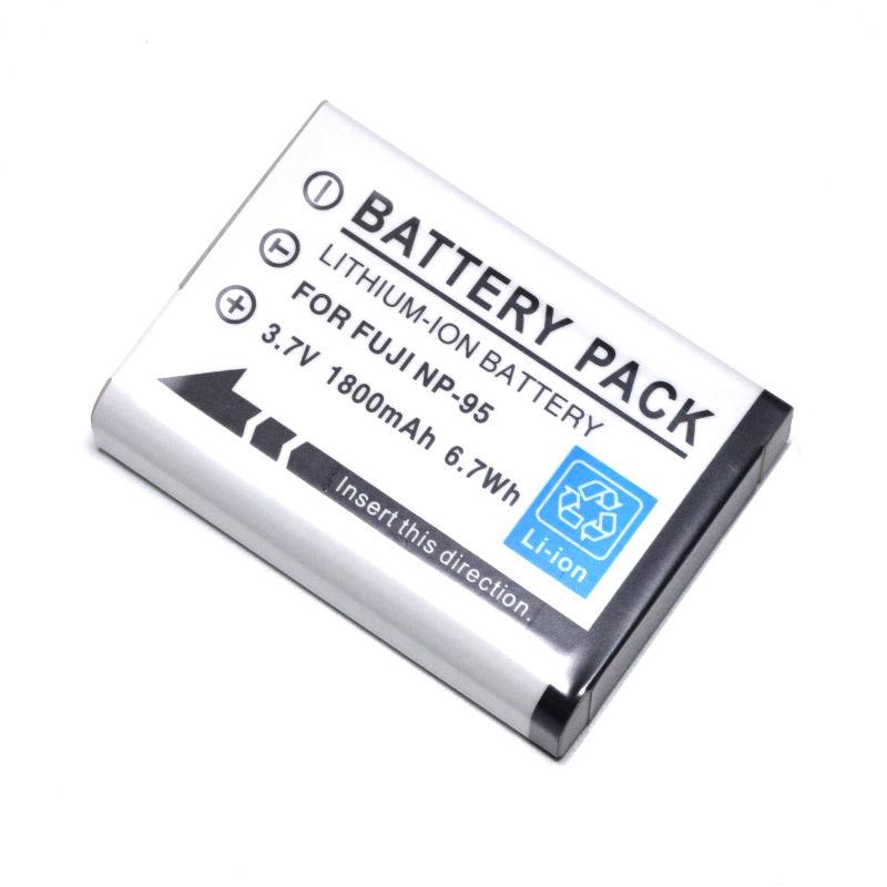 Bateria NP-95 para Fujifilm Finepix X100S, X100, F30, X-S1, F31fd, Real 3D W1, NP95, BC-65
