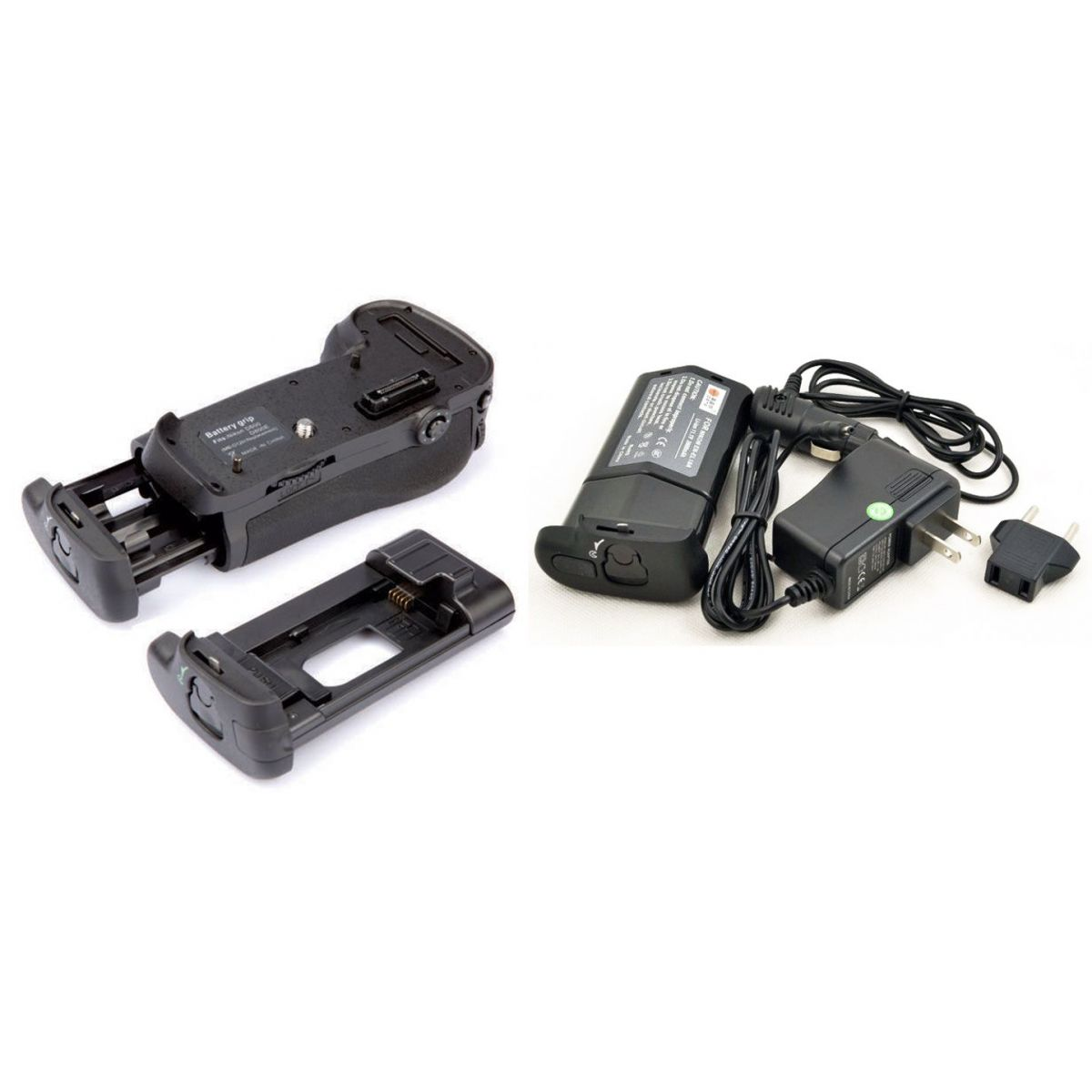 Kit Battery Grip MB-D12 + bateria EN-EL18A para Nikon D800, D810