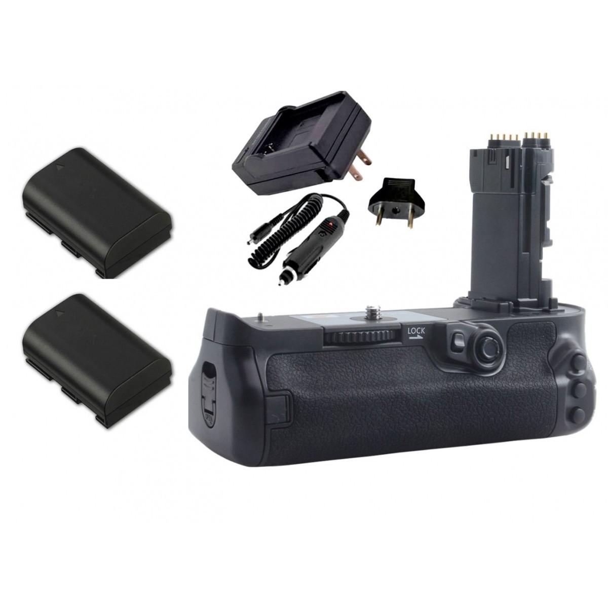 Kit Battery Grip BG-E20 + 2 baterias + carregador para câmera Canon EOS 5D Mark IV