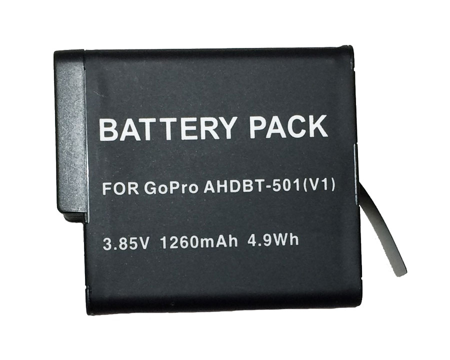 Bateria AHDBT-501 para Go Pro Gopro HD Hero 5 Hero 6