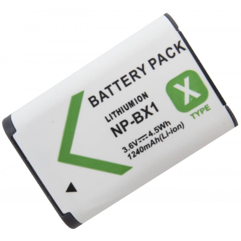 3 Baterias BX1 + Carregador Duplo BX1 Action Cam