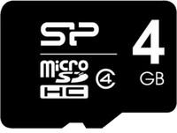 Cartão de Memória Silicon Power MicroSDHC 4GB Classe 4