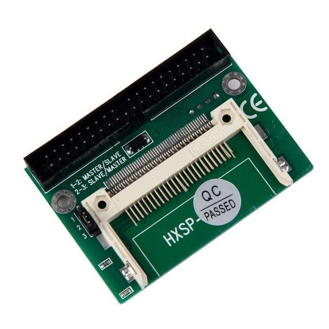Adaptador Compact Flash CF para IDE 40-pin Tipo Macho