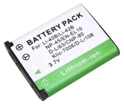 Bateria EN-EL10 para Nikon Coolpix S3000, S4000, S570, S600, S610, S700 e outras
