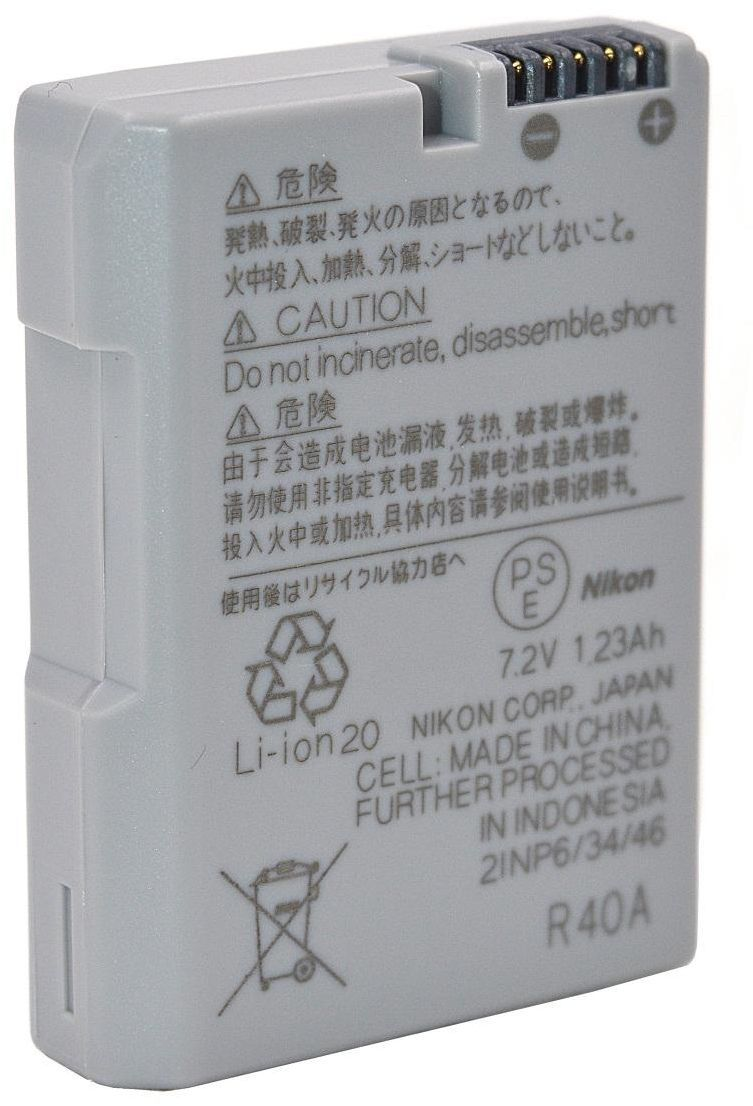 Bateria EN-EL14a ORIGINAL NIKON para SLR P7000, D3100, D3200, D5100, P7100