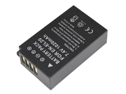 Bateria EN-EL20 1020mAh para câmera digital e filmadora Nikon 1 J1