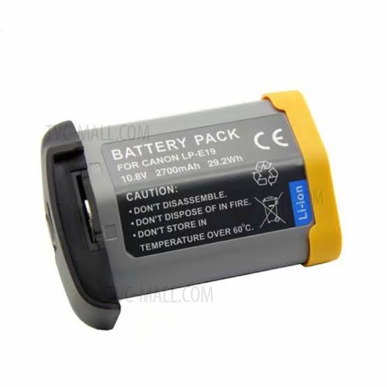 Bateria LP-E19 para Canon EOS 1DX Mark II