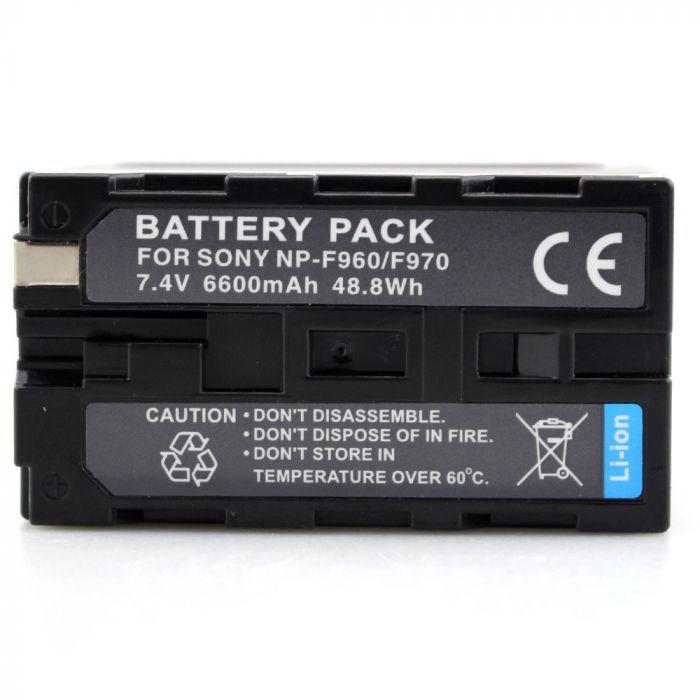 Bateria NP-F950/960/970 para câmera digital e filmadora Sony BC-V615, CCD-SC5, CCD-SC55, CCD-SC65, CCD-TR1, CCD-TR200, CCD-TR215, CCD-TR3, CCD-TR300, CCD-TR3000, CCD-TR3000E, entre outras.