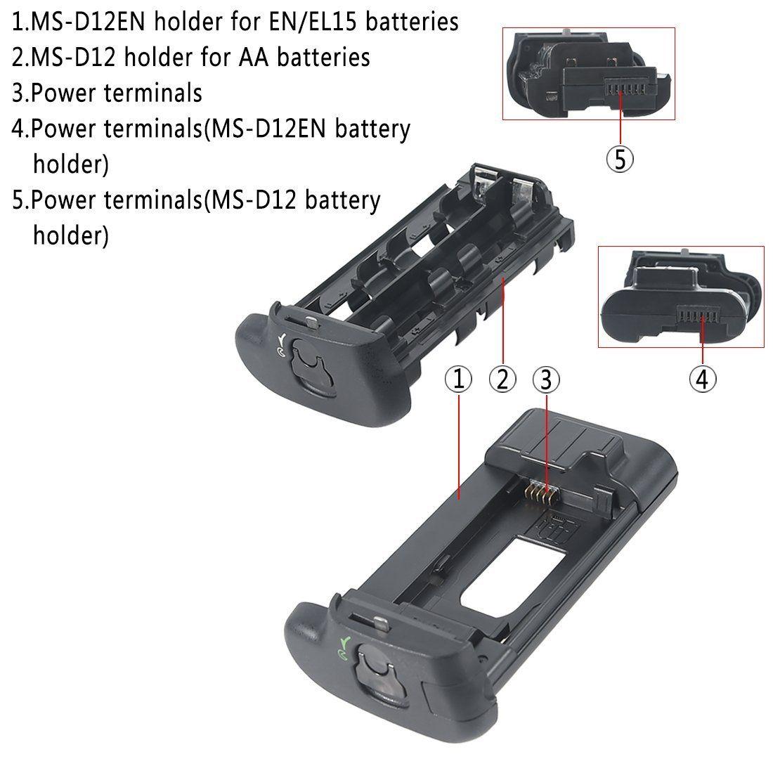 Battery Grip MB-D17 para Nikon D500