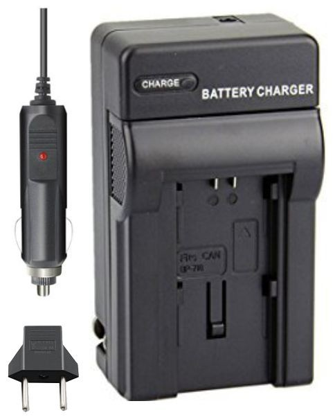 Carregador de Bateria BP-718 e BP-727 para Canon HF R36, M56, R46 entre outras