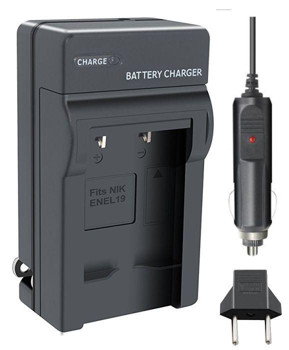 Carregador de Bateria EN-EL19 NP-120 para Nikon S2500 S2550 S3100 S4100