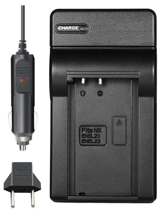 Carregador de Bateria EN-EL20 para Nikon 1 J1