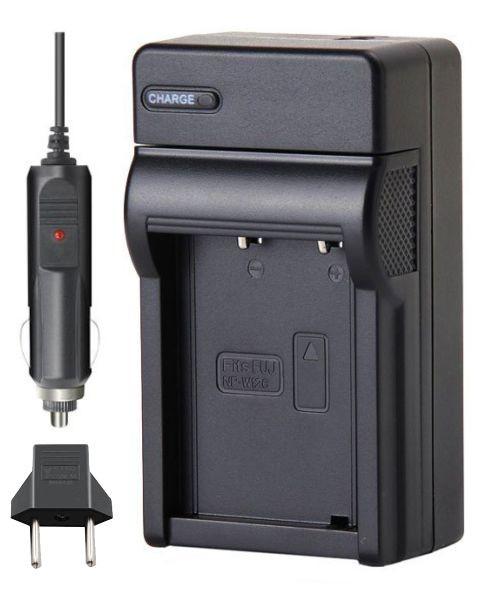 Carregador de bateria NP-W126 para Fuji FinePix HS30 EXR, HS50 EXR, X-E1, X-Pro1, F30, F31FD