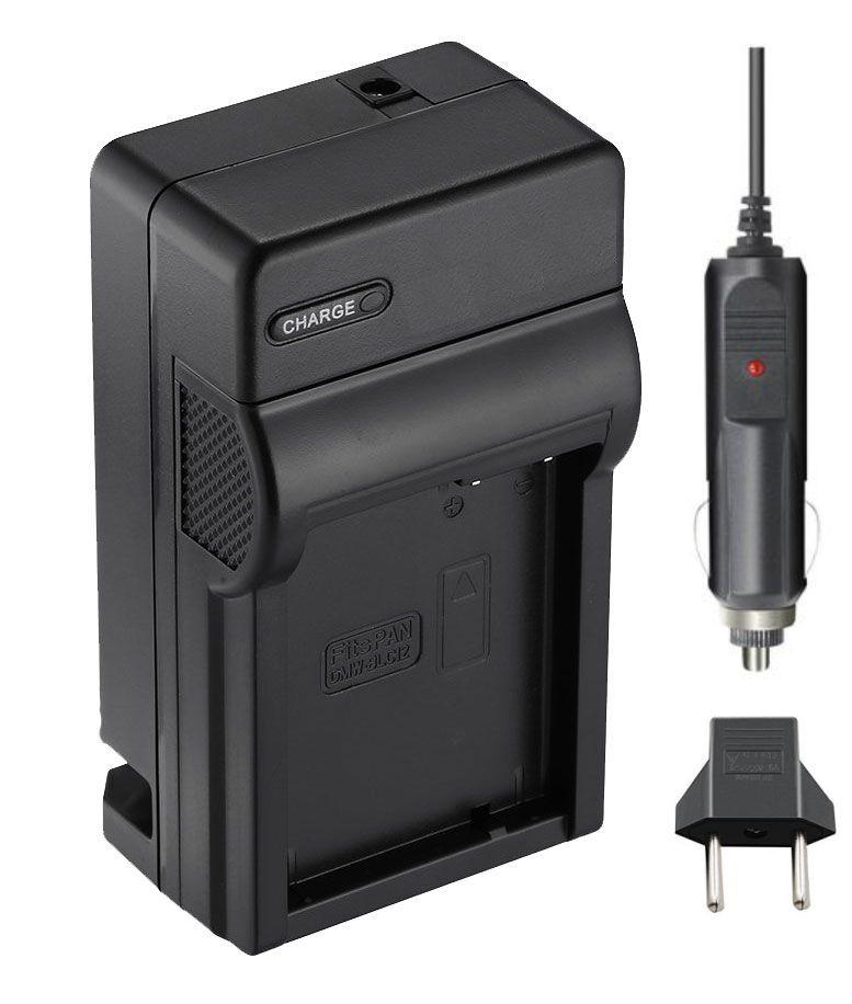 Carregador DMW-BLC12 para Panasonic Lumix DMC-G85, DMC-FZ2500, DMC-GX8, DMC-G7, DMC-G6K