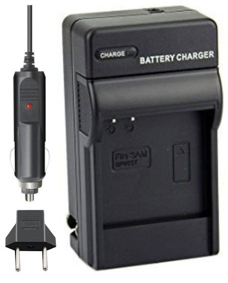 Carregador IA-BP85ST para câmera digital e filmadora Samsung SC-HMX10, SC-MX10A, SMX-F33, VP-MX10