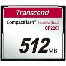 CARTÃO CF TRANSCEND 512MB TS512MCF220I
