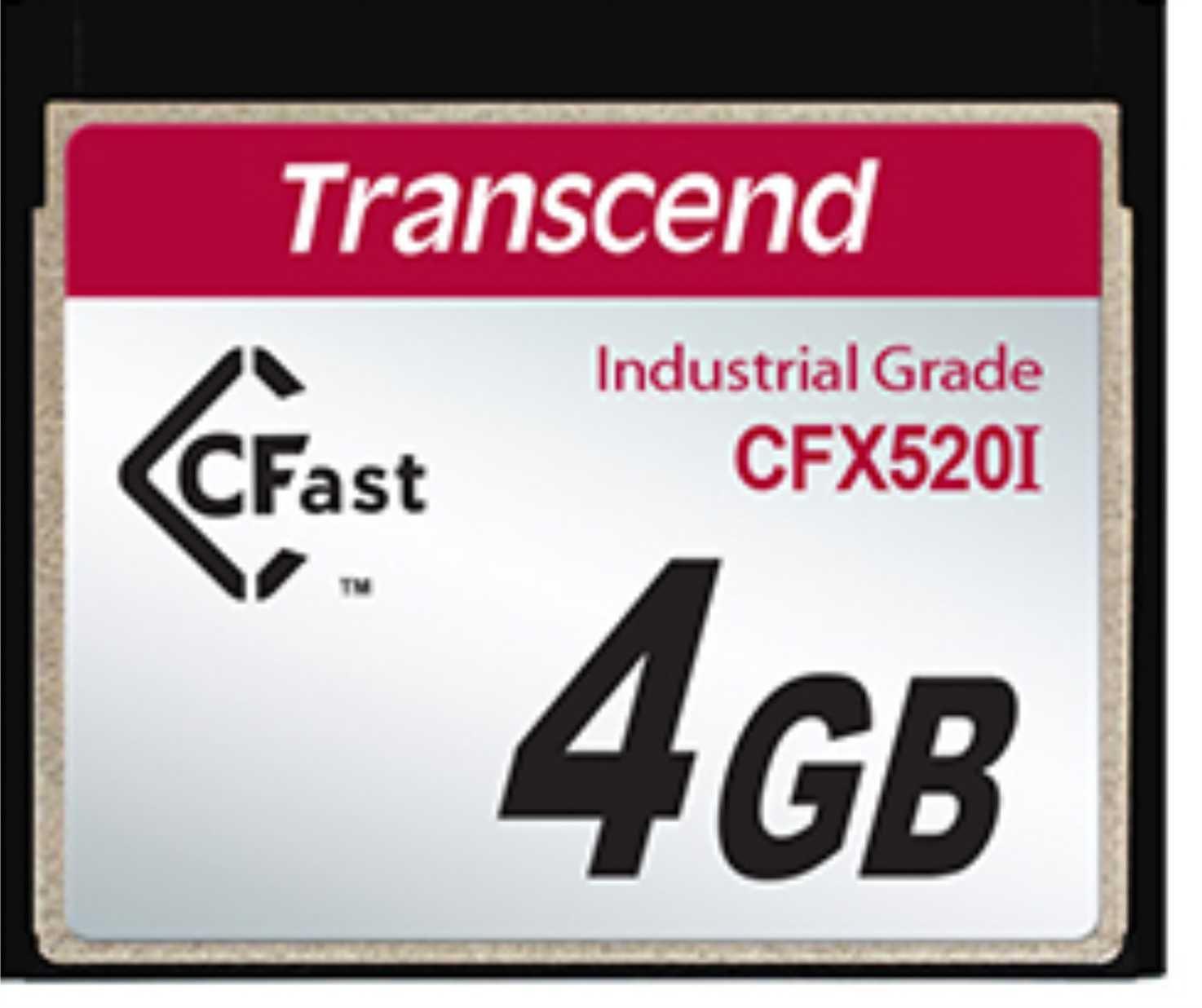 Cartão de memória INDUST TEMP CFAST CARD 4GB TS4GCFX520I  Industrial Grade