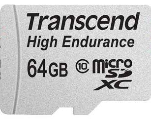Cartão de Memória Transcend MicroSDHC 64GB Classe 10 High Endurance