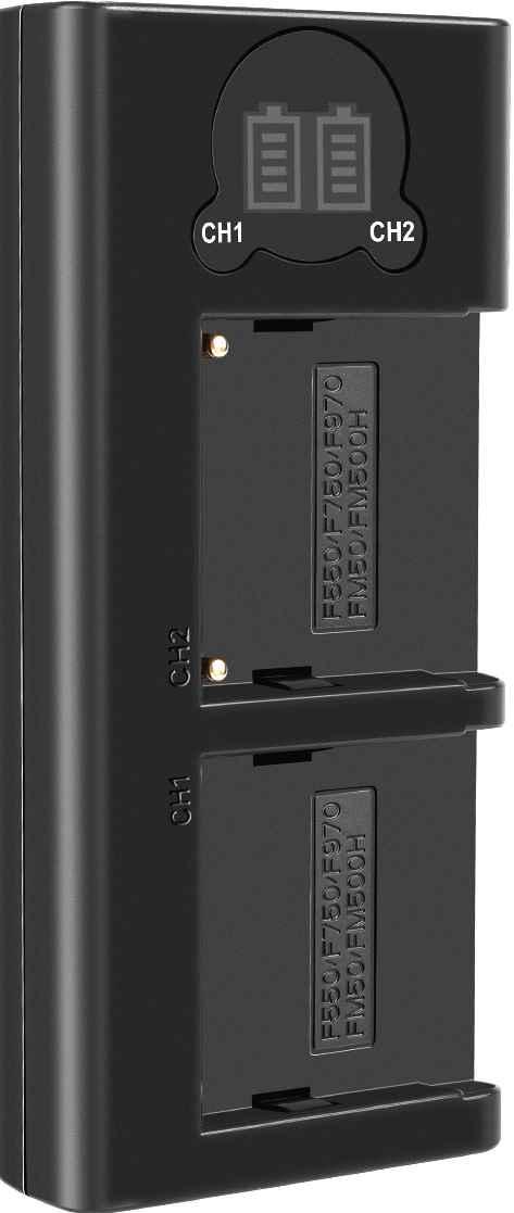 Carregador Duplo DL NP-F970 para Sony