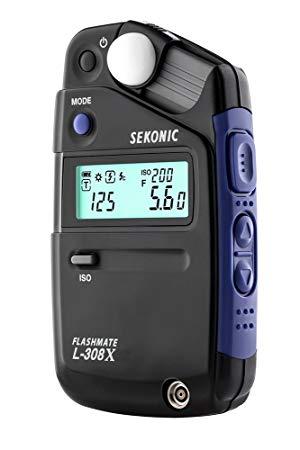 Fotômetro  Sekonic L-308X Medidor De Luz Flashmate