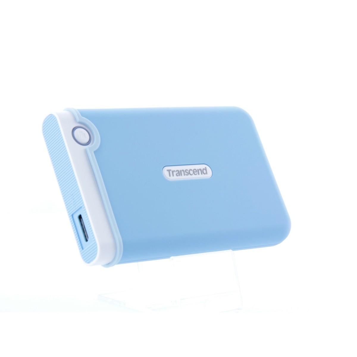 HD Externo Transcend StoreJet 25M3B 1TB USB 3.0 Blue