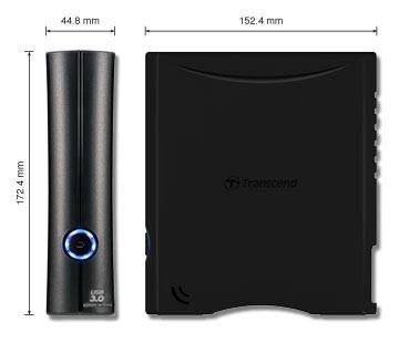 """HD Externo Transcend StoreJet 3.5"""" 8TB USB 3.0 TS8TSJ35T3"""
