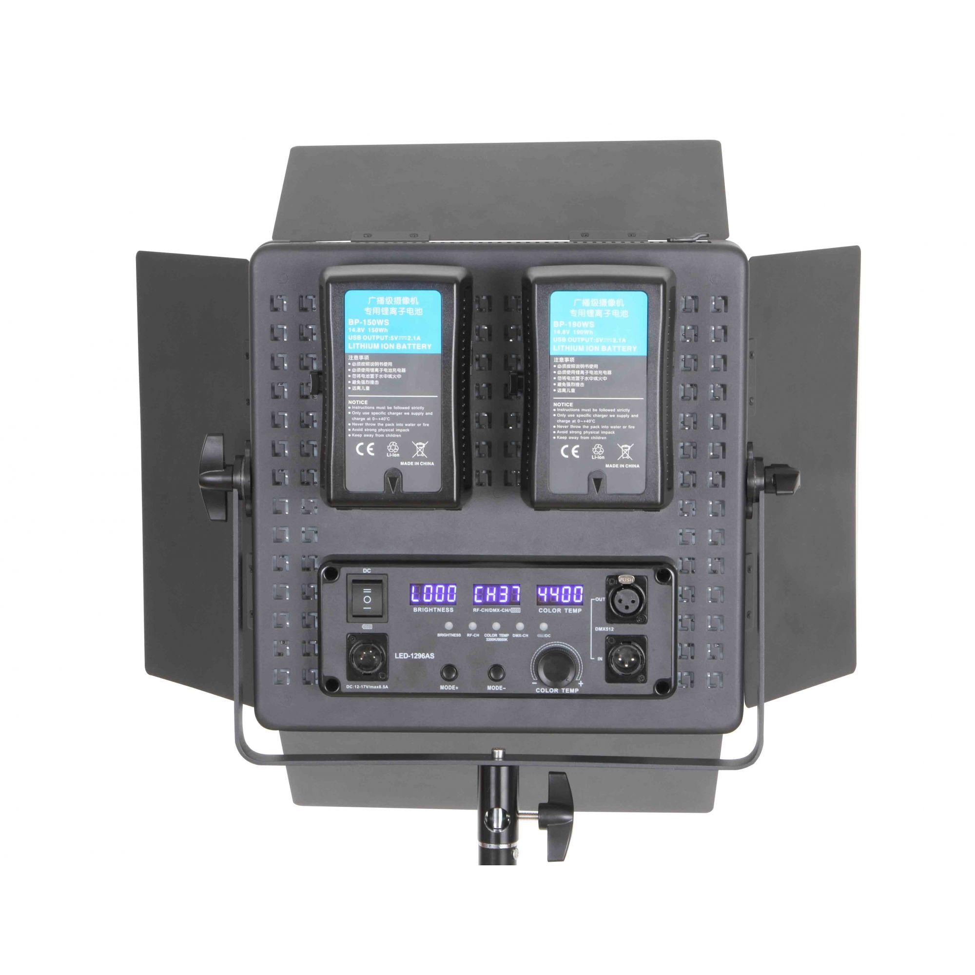 Iluminador de LED Profissional LED-1296AS