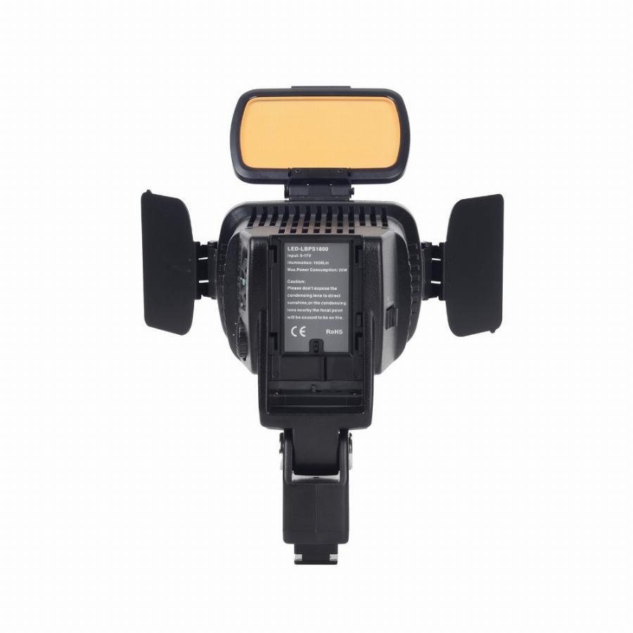 Iluminador de LED Profissional VL001B Pro 10 LED regulável Ultra High Power para Camera Digital  / Camcorder Video & LED Light para Canon Nikon Panasonic Sony Samsung Olympus