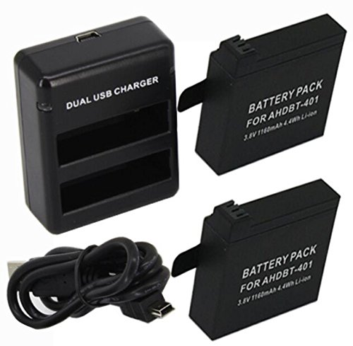 KIT 4 bateria + 2 carregador para Canon LP-E17 + KIT 2 baterias + 1 carregador Gopro 4