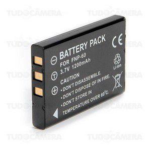 Kit Bateria + Carregador para FUJI NP-60
