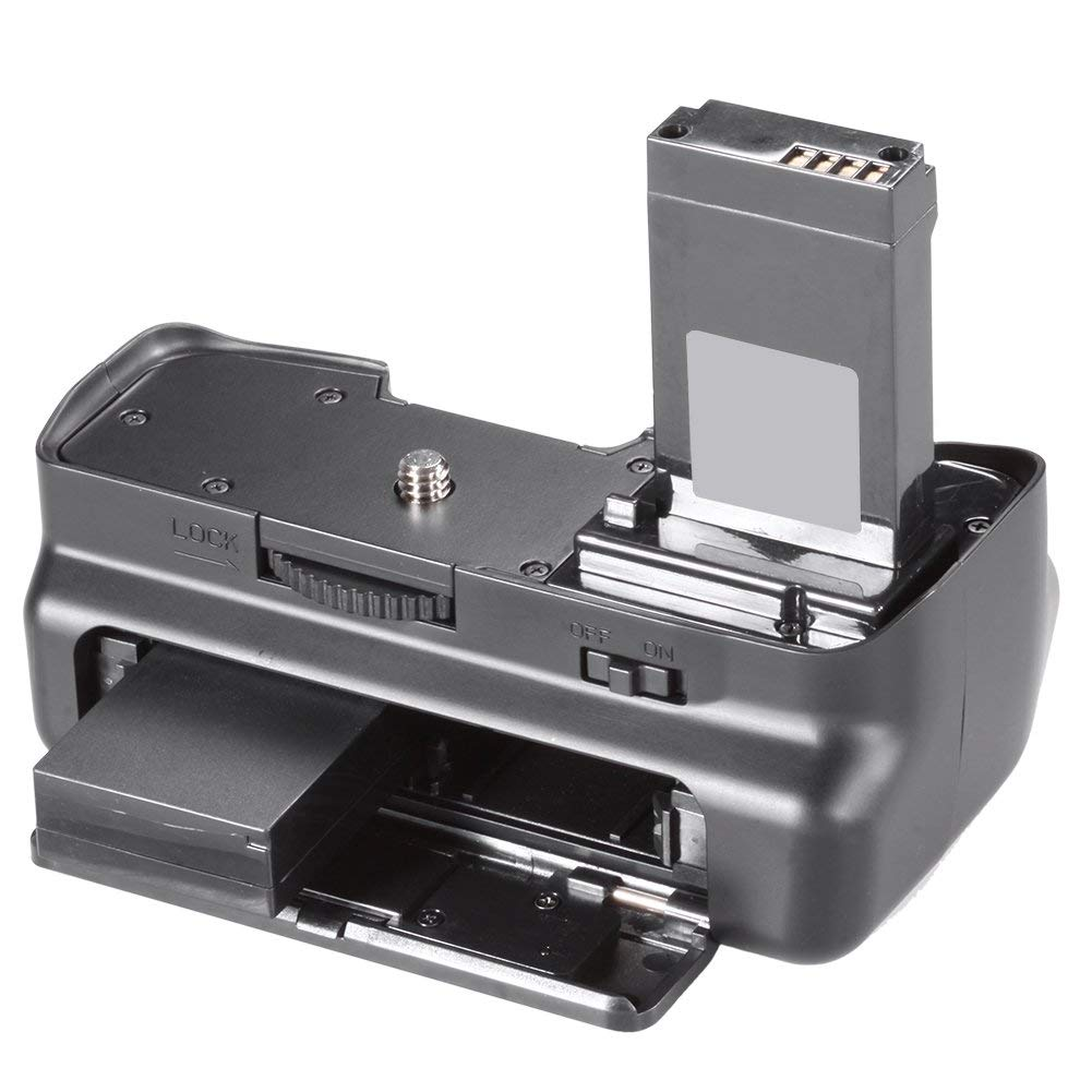 Kit Battery Grip 100DH + 2 baterias LP-E12 + carregador para Canon EOS 100D Rebel SL1