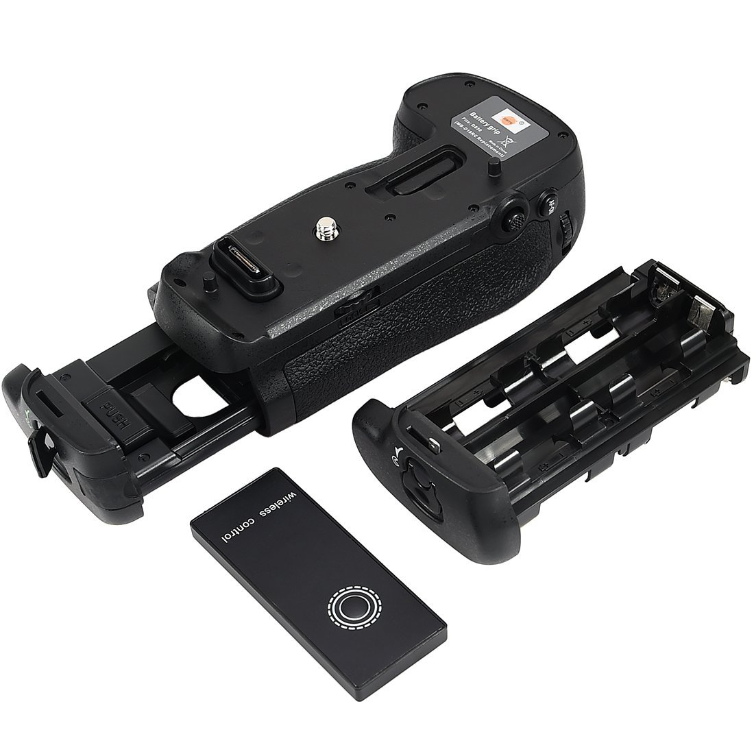 Kit Battery Grip MB-D18 para Nikon D850 + 2 baterias EN-EL15 + carregador