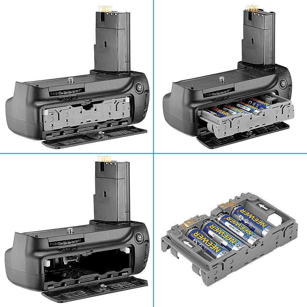 Kit Battery Grip MB-D80 + 2 Baterias + carregador para Nikon D80 e D90