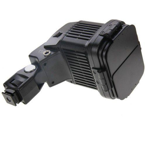 Kit Iluminador Led 2 Baterias Carregador P Canon Sony Nikon
