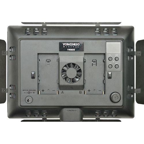 KIT YONGNUO ILUMI LED YN900+ 2 BATERIAS NP-970 + CARRE