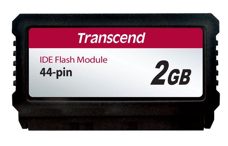 Módulo IDE Flash DOM 44 Pinos PATA 2GB Transcend (Vertical)