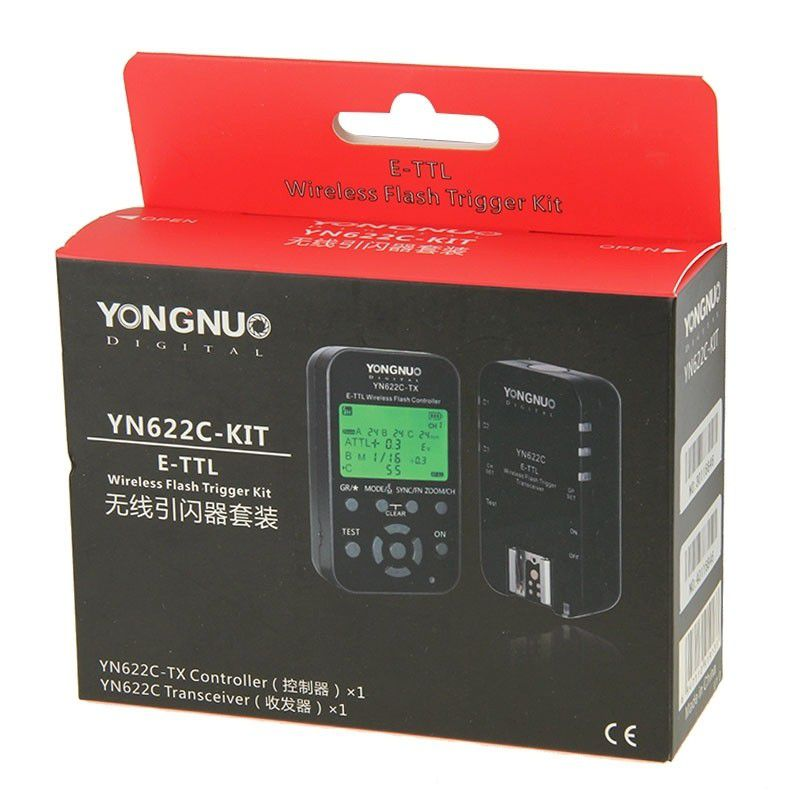 Rádio Flash Yongnuo YN622C-KIT P/ CANON