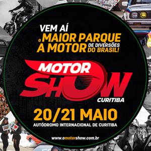 O Motor Show - Domingo - 21/05/17 - Curitiba - PR