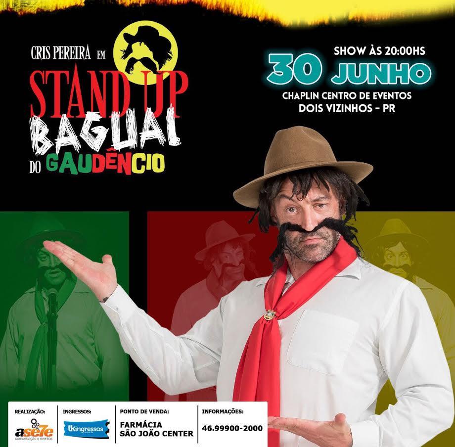 Gaudêncio - Stand Up Baguai - 30/06/17 - Dois Vizinhos - PR