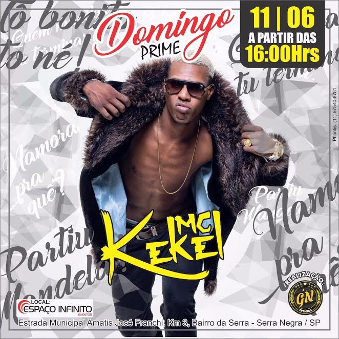 Domingo Prime - MC Kekel - 11/06/17 - Serra Negra - SP