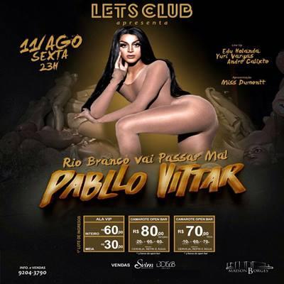 Pabllo Vittar - 11/08/17 - Rio Branco - AC