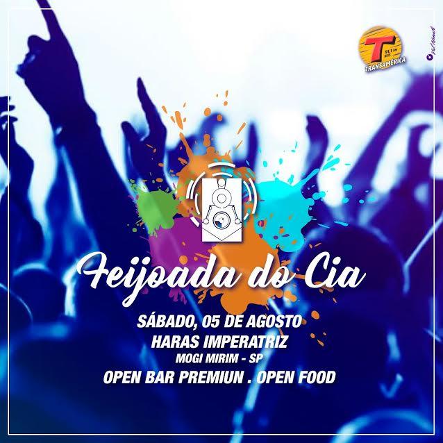 Feijoada da Cia - 05/08/17 - Mogi Mirim - SP