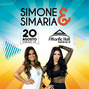 Domingo das Coleguinhas - Simone & Simaria - 20/08/17 - Pilar do Sul - SP