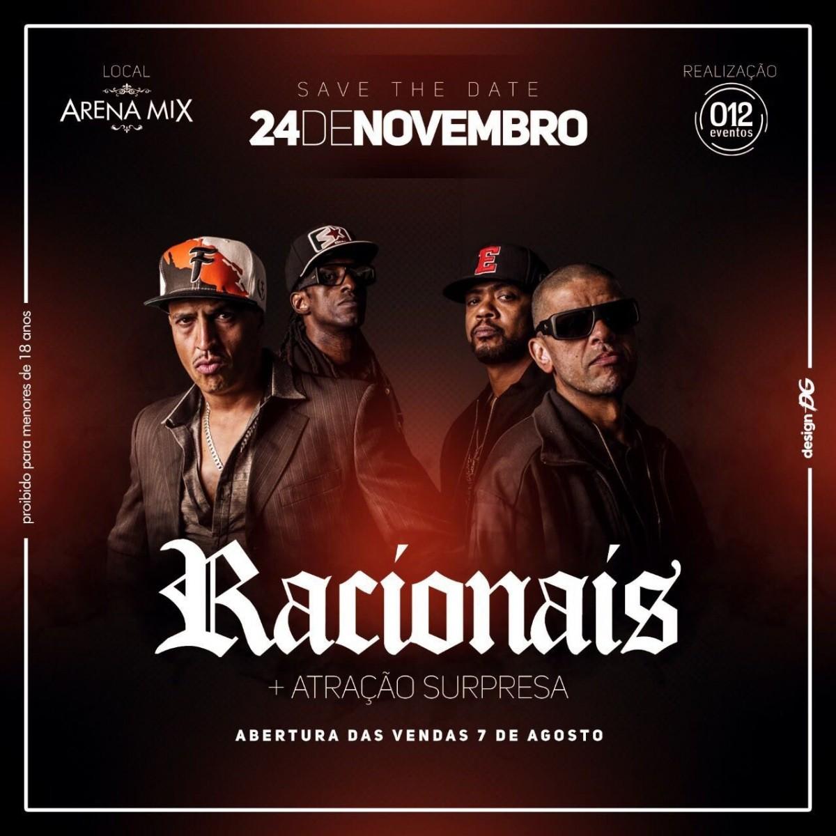 Racionais MC´S - 24/11/17 - Mogi das Cruzes - SP